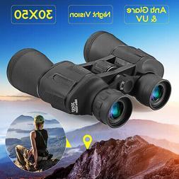 30x50 Zoom HD Jumelles Télescope Nocturne Vision Militaire