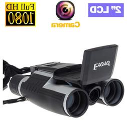 Digital Binoculars Camera Video Photo Telescope W/ Screen Su