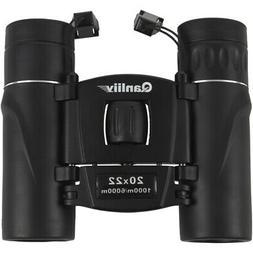 Qanliiy Jumelles Mini Dual Focus Compact TéLescope de Poche