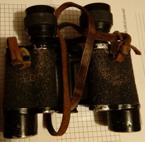 paire de jumelles anciennes 8x avec etui