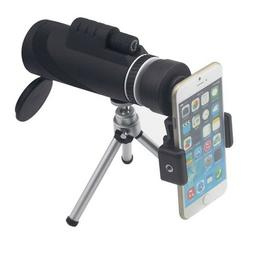 Télescope monoculaire pour Smartphone 40X60 Portable 1500m/